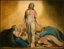 William Blake: Christ after the resurrection