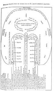 Diagram of the ascent of Mt. Carmel
