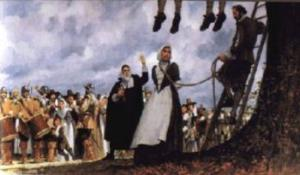 Mary Dyer & other Quaker martyrs