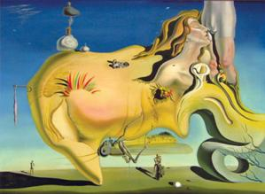 The Great Masturbator by Salvador Dali
