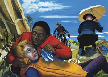Dinah Roe Kendall, The Good Samaritan (from Allegories of Heaven)