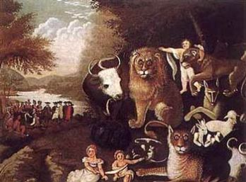 The Peaceable Kingdom -- Edward Hicks