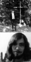 The author in 1967 & 1971