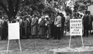Quaker Peace Vigil in Tasmania, 1962