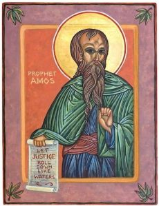 The Prophet Amos, by Betsy Porter